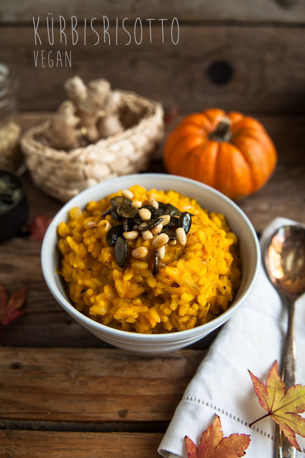 Kürbisrisotto vegan Pumpkin risotto