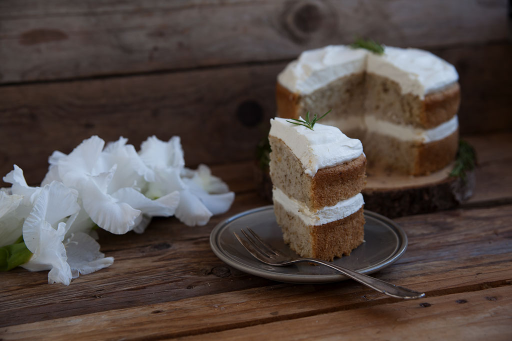 Rosmarin torte vegan Rezept