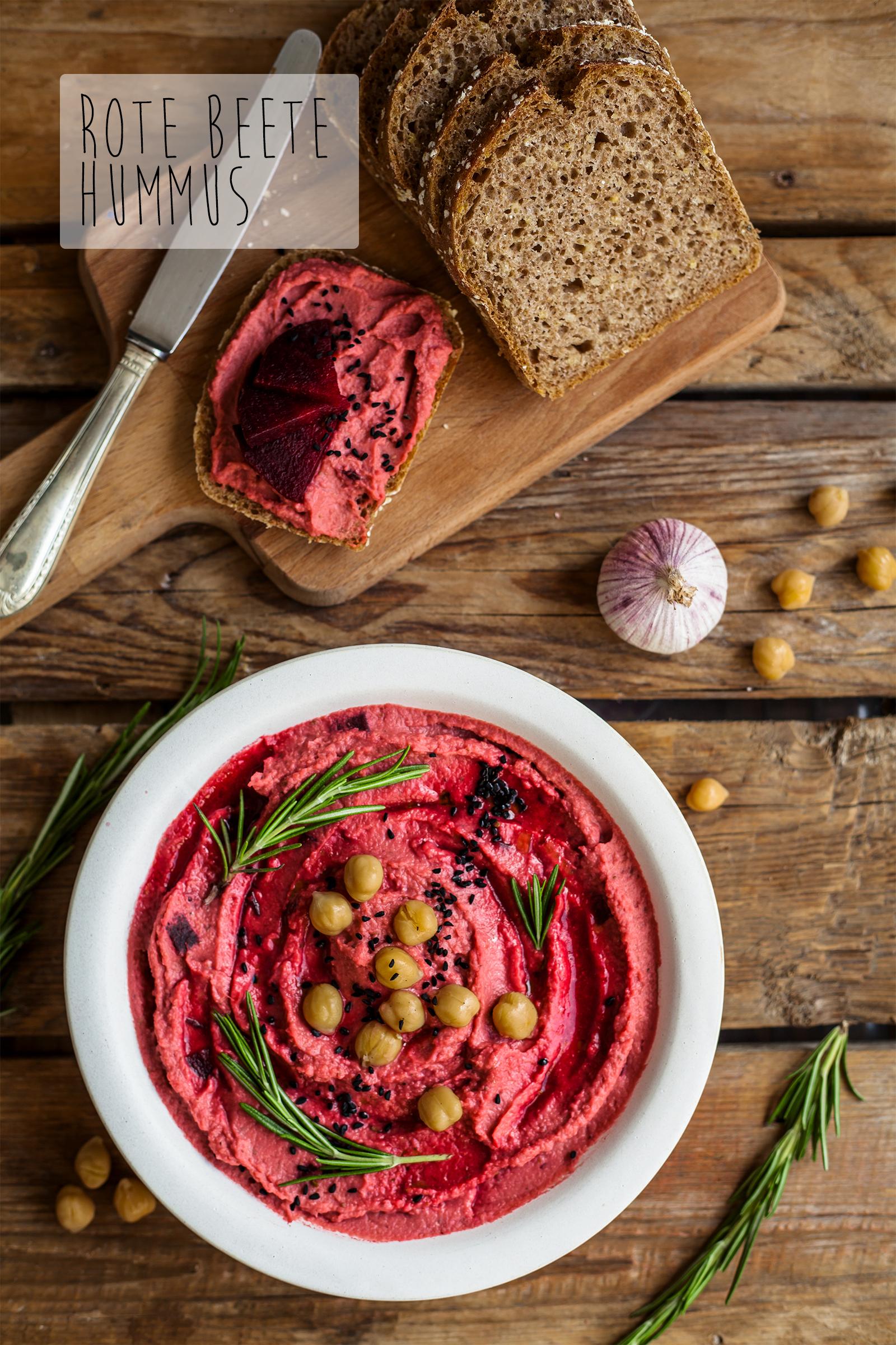 Hummus Rezept vegan Pinterest