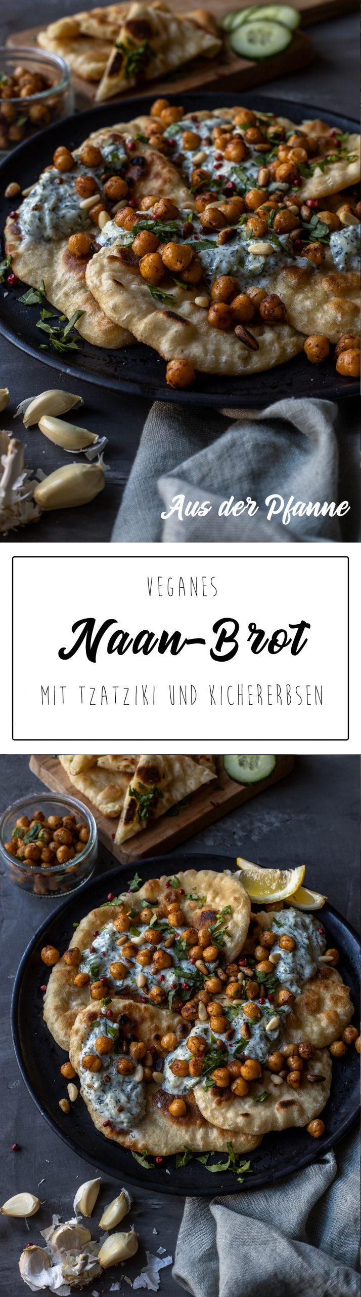 Veganes Naan Rezept Pinterest