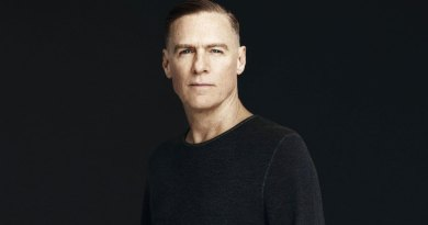 Bryan Adams says 30 years of being vegan has kept him young looking at 60