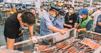 A second wave of coronavirus has hit China's capital city Beijing and imported salmon is being blamed prompting a national ban on the fish.