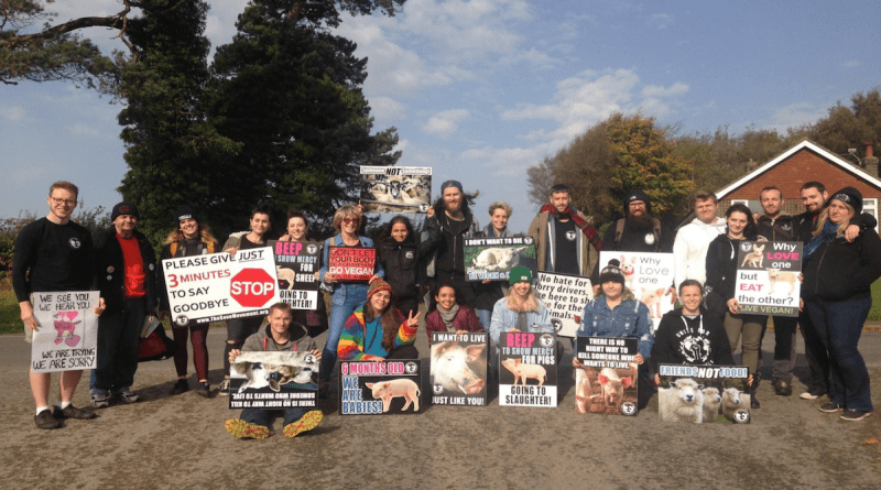 Sussex Animal Save in the UK has gotten a slaughterhouse permanently shutdown after years of protesting and bearing witness.