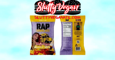 Slutty Vegan and Pinky Cole are working with Rap Snack potato chips to bring vegan snacks to their community with flavors like maple BBQ.