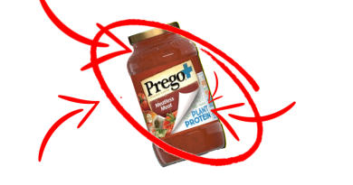 Prego the pasta sauce brand from Campbells has launched the first vegan meat pasta sauce across the United States