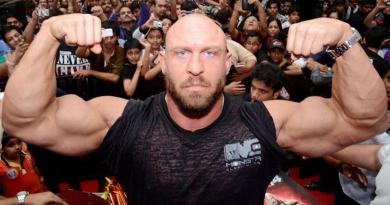 WWE Wrestler Ryback Reeves goes vegan for the animals and gets shredded