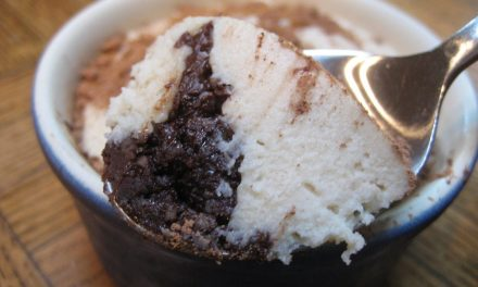 Chocolate Coffee (Almost Raw) Dessert Cups