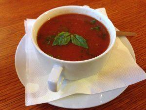 Tomato Soup Pizzeria Manna Prague | Vegan Nom Noms