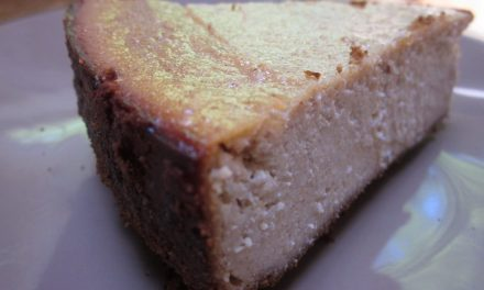 Tofutti-Free Vegan Cheesecake