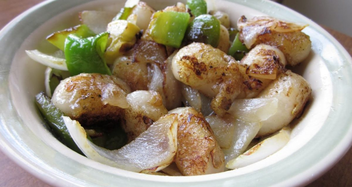 Savory Mochi or Rice Flour Gnocchi
