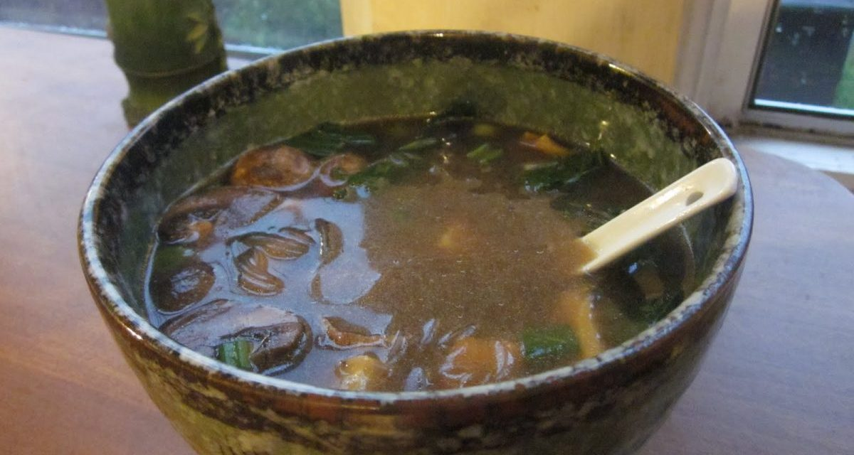 Cheaters' Miso Soup & Homemade Mushroom Broth
