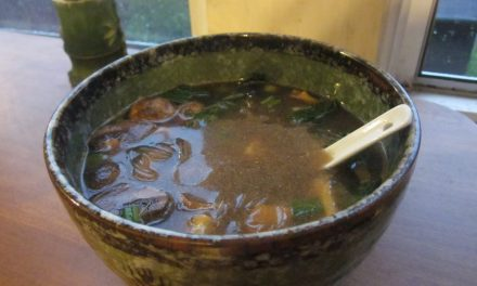 Cheaters' Miso Soup & Homemade Mushroom Broth