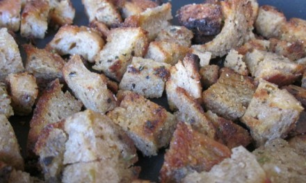 Stale Bread? Nahhh. Croutons!