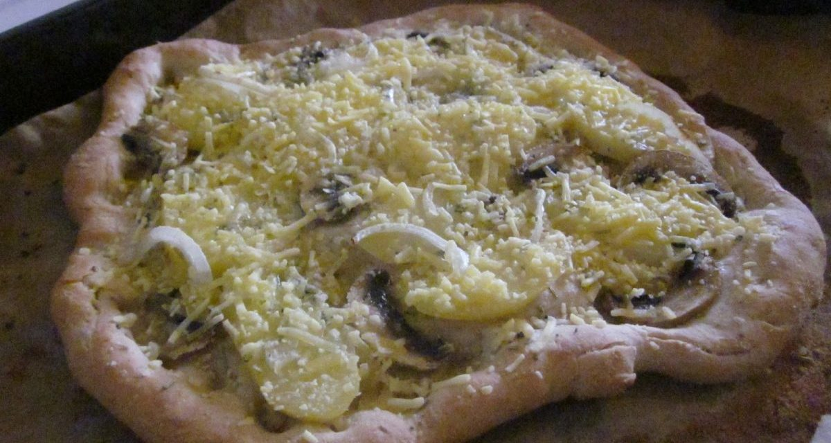 Vegan Rosemary Potato Flatbread