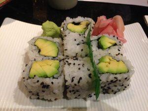Benihana Avocado Sushi | Vegan Nom Noms