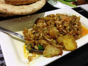 Al Shorafaa Dubai Aloo Ghobi | Vegan Nom Noms