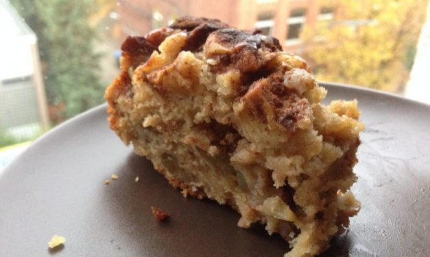 Vegan Jewish Apple Cake