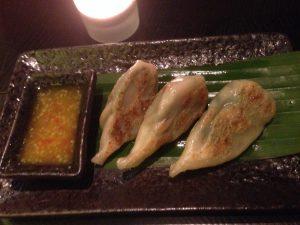 Ping Pong Dubai Fried Veggie Dumplings with Mango Sauce | Vegan Nom Noms