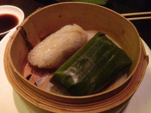 Ping Pong Dubai Sticky Rice Veggie Dim Sum | Vegan Nom Noms