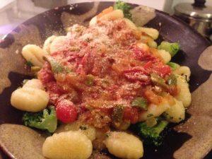 Homegrown Tomato Sauce Gnocchi | Vegan Nom Noms
