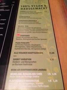 Austria Vegan Food