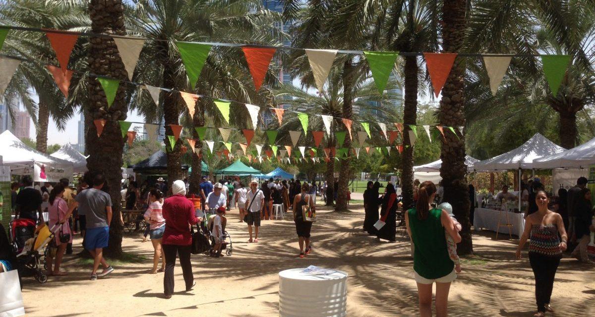 Vegan Nom Noms Travels: Ripe Friday Foodie Market in Safa Park, Dubai