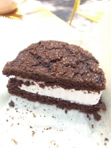 The Lunch Room Ice CreamCookie Sandwich | Vegan Nom Noms