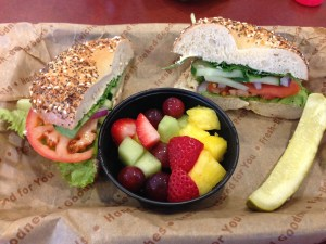 Einstein Bagels Madison Wisconsin | Vegan Nom Noms
