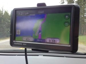 GPS fail in Yellowstone   Vegan Nom Noms