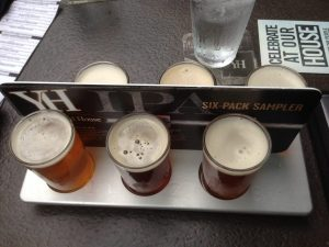 Yard House IPA Flight Sampler Meridian Idaho | Vegan Nom Noms