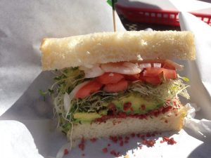 Cambria California Vegan Avocado Sandwich | Vegan Nom Noms