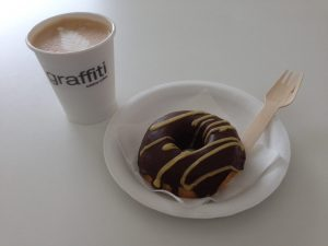 Graffiti Sublime Coffee Vegan Doughnuts | Vegan Nom Noms