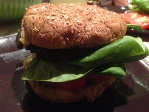 Homemade Portobello Burger   Vegan Nom Noms