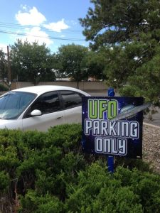 Roswell UFO Parking Only