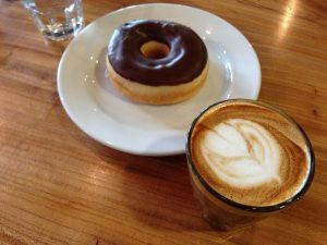 Houndstooth Coffee and Vegan Donut Austin | Vegan Nom Noms