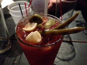Vegan Drinks NOLA Lost Love Lounge Bloody Mary | Vegan Nom Noms