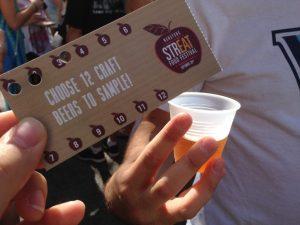 Manyunk StrEAT Food Fest Beer Garden | Vegan Nom Noms