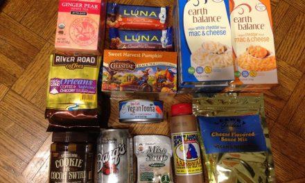 Back to Germany & My American Vegan Food Haul