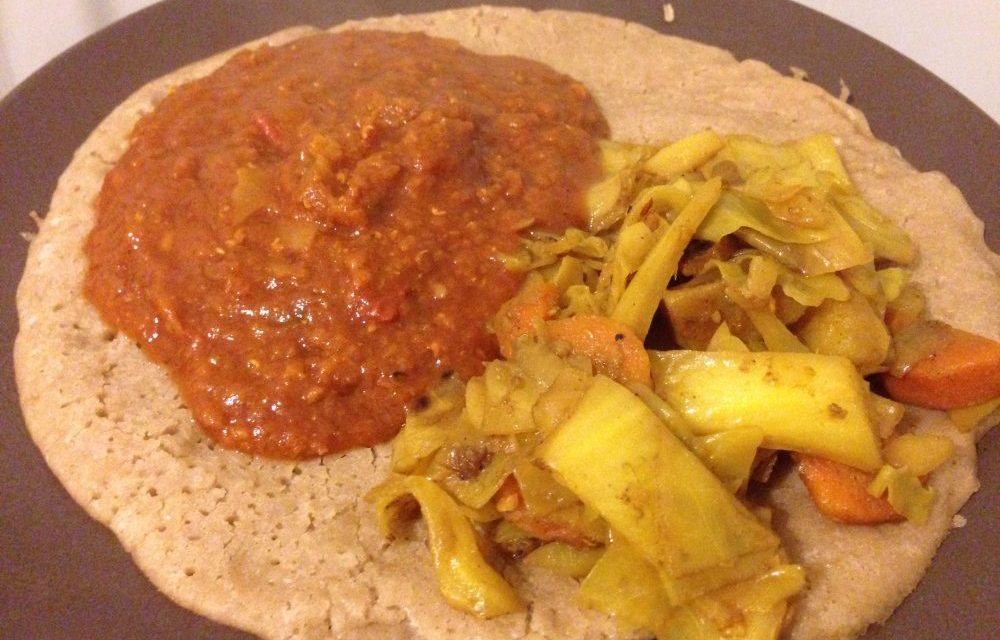 First Attempt at Homemade Ethiopian Food