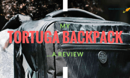 Vegan Nom Noms Gear: Tortuga Backpack Review