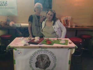 Cheezehound Owner at Vegan Shop-Up - Vegan Nom Noms