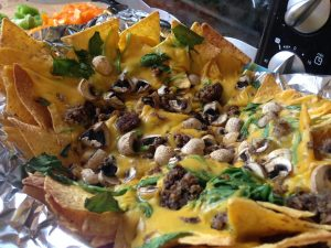 Nachos Potato Carrot Cheese - Vegan Nom Noms
