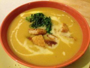 Pumpkin Soup - Vegan Nom Noms