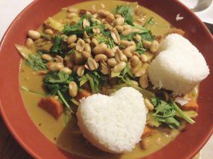 Vergan Indonesian Curry Sayur Lodeh - Vegan Nom Noms
