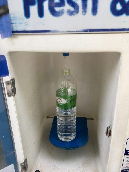 thai water machine