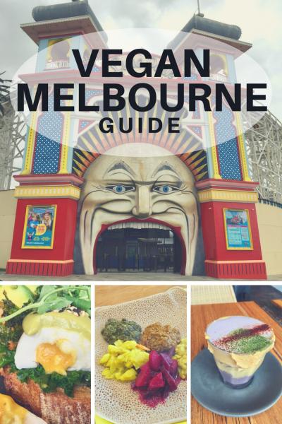 Vegan Melbourne Guide Pinterest Image - Vegan Nom Noms