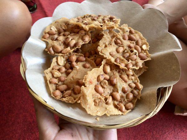 Vegan Balinese Peanut Ricecake