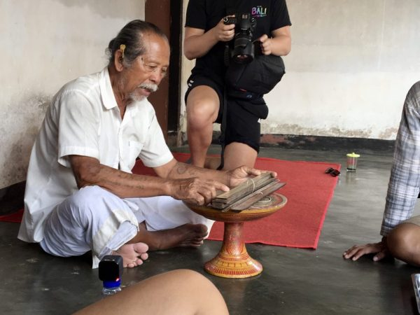 Ubud Cycling Tour - Meeting a Balinese Local Priest
