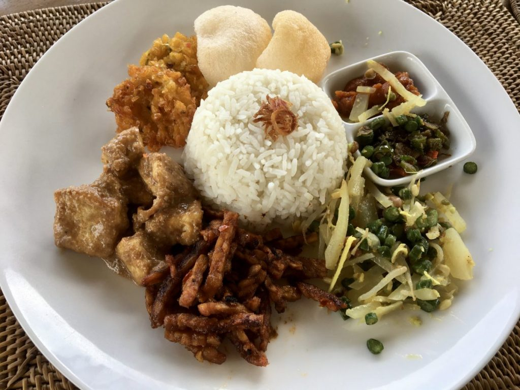 Ubud Cycling Tour - Vegan Balinese Food Lunch