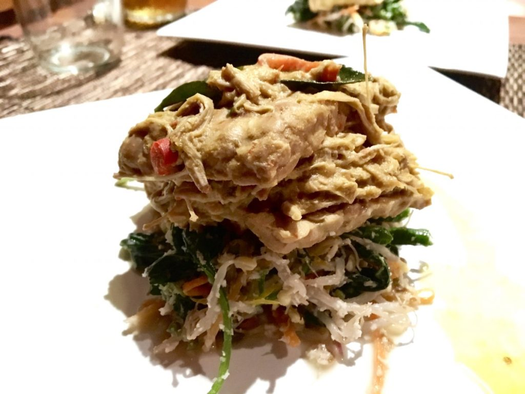 Bali Soul Warung Ubud - Vegan Tempeh Steak